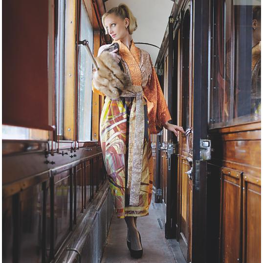 Peignoir kimono paris bassetti - Camif paris ...