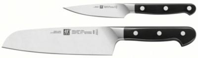 Set de 2 couteaux ZWILLING gamme Pro office 10 cm + santoku 18 cm