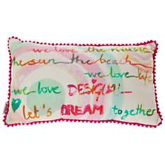 Coussin Paint Party DESIGUAL