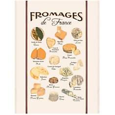 Grand torchon Fromages de France