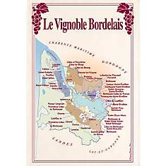 Torchon Vignoble Bordelais TORCHONS &amp...