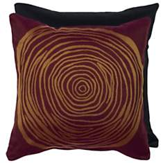 Housse de coussin Wood Prune  GARNIER TH...