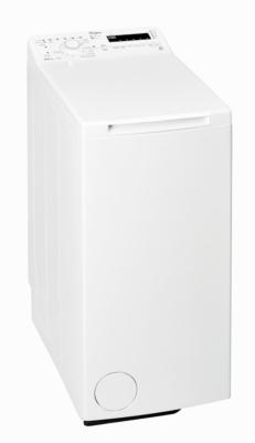 - Lave-linge Top 6,5 kg - Vitesse d'essorage maxi : 1200 trs/min - Capacité variable automatique : oui - Arrêt cuve pleine : oui - Position accès idéal tambour : oui - Ouverture en douceur : oui - Raccord eau chaude : non - Niveau sonore lavage : 59 dB -