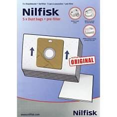 Lot de 15 sacs NILFISK 78602600