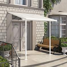 Abri de terrasse 2 x 2 m Blanc CHALET ET...