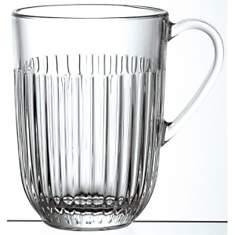 Lot de 6 Mugs en verre LA ROCHERE  Ouess...