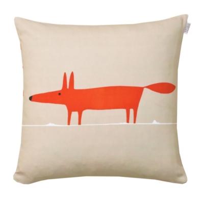 Coussin Mr Fox SCION LIVING, mandarine, 45 x 45 cm Composition: toile... par LeGuide.com Publicité