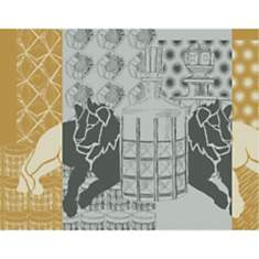 Lot de 4 sets de table antitaches Safari...