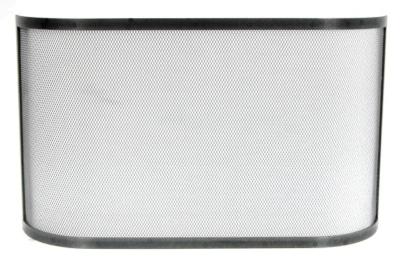 Pare-feu simple courbé en acier LE  MARQUIER