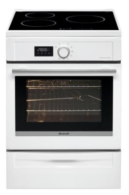 Cuisinière induction BRANDT BCI6653W  garanti 5 ans