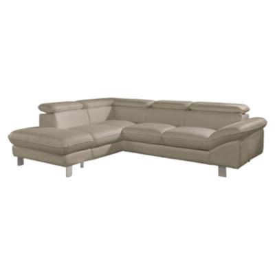 Canapé d'angle XL cuir Casper