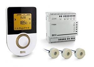 Gestionnaire d'énergie avec indicateur  de consommation Tybox 1010WT DELTA