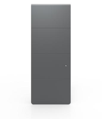 Radiateur Axiom vertical fonte connecté avec Netatmo gris anthracite NOIROT