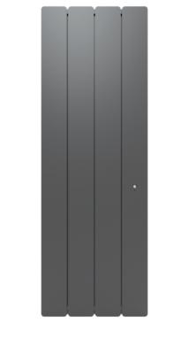 Radiateur Bellagio vertical connecté avec Netatmo gris anthracite NOIROT