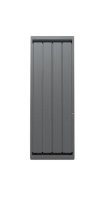 Radiateur Calidou vertical connecté avec Netatmo gris anthracite Noirot
