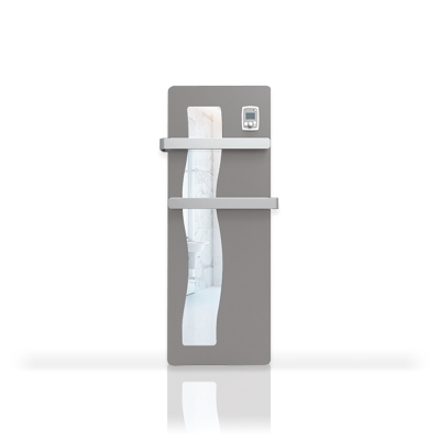 Radiateur sèche serviettes avec façade miroir Vague NOIROT