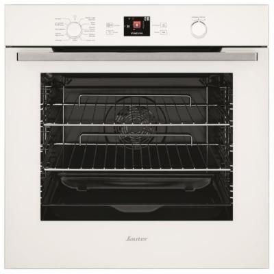 """- Four pyrolyse 73 L - 9 modes de cuisson - Ecran TFT couleur 2,8"""" - Guide culinaire : 35 recettes programmées. Il suffit d'indiquer le poids et le type de plat, le four recommande le mode de cuisson, la température, la hauteur de plat et le temps d"""