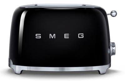 Toaster 2 tranches noir TSF01BLEU SMEG