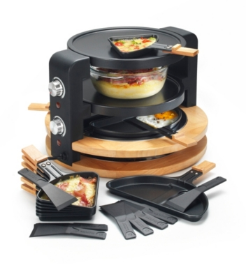 Raclette - Grill - Crêpes KCWOOD8SUPER KITCHENCHEF
