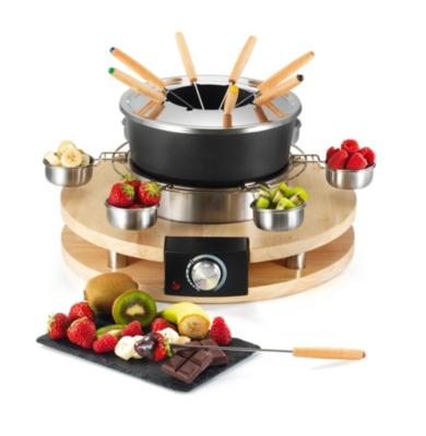 Service à fondue KCWOODFOND8 KITCHENCHEF