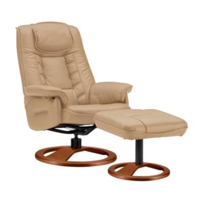 Fauteuil de relaxation Pouf cuir Nec Confortissimo