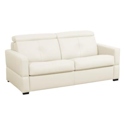 Canapé cuir avec têtières relevables Severin Camif