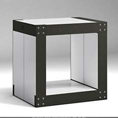 Table d'appoint noire 4 Lems