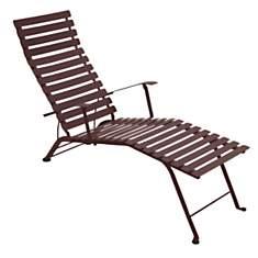 Bistro métal Chaise longue pliante  FERM...