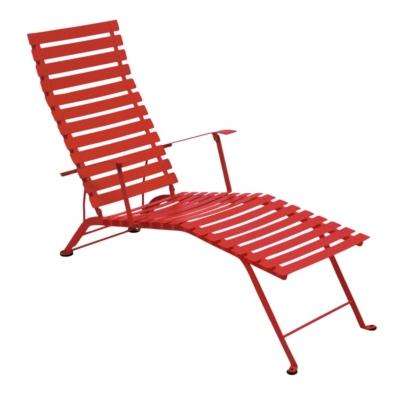 Bistro métal Chaise longue pliante  FERMOB