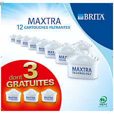 Lot de 12 cartouches Maxtra BRIT...