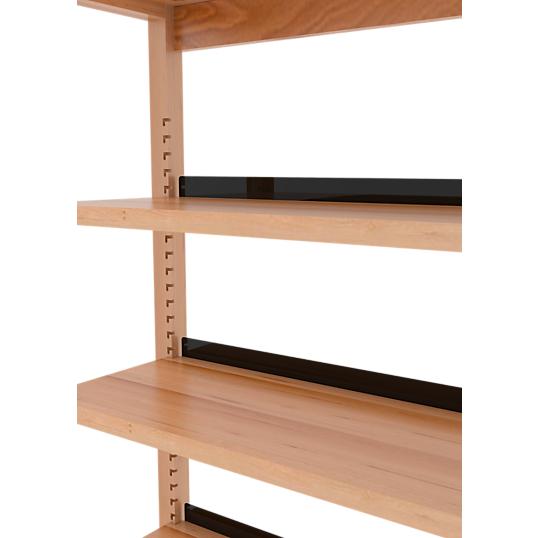 but e en m tal noir la compagnie du hetre accessoires biblioth ques et etag res meuble. Black Bedroom Furniture Sets. Home Design Ideas