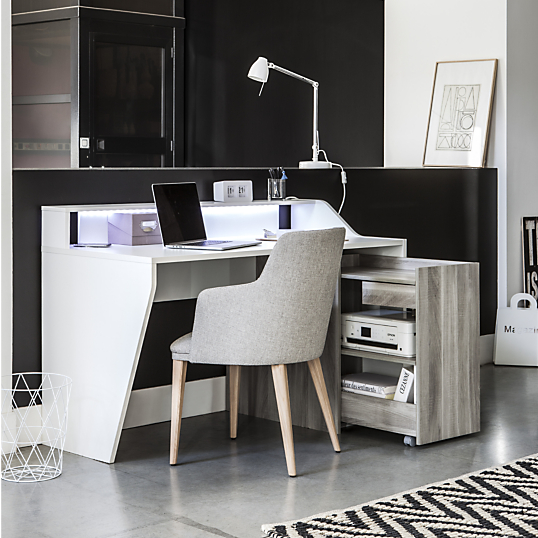 bureau connect cinlou. Black Bedroom Furniture Sets. Home Design Ideas
