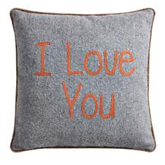 Coussin I Love You LOUNGE FABRICS