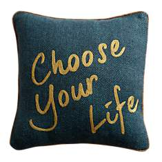 Coussin Choose Your Life LOUNGE FABRICS