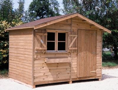 Abri Jardin C.I.H.B. Pervenche sans plancher