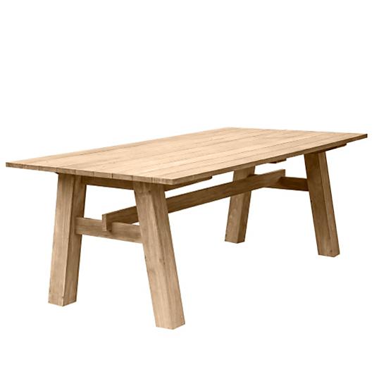 Table en teck coulon medicis - Table camif ...