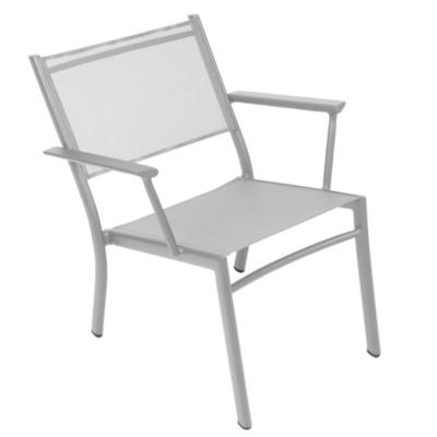 Lot de 2 fauteuils bas FERMOB COSTA