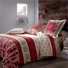linge de lit adulte camif. Black Bedroom Furniture Sets. Home Design Ideas