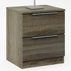 Chevet 2 tiroirs Daren