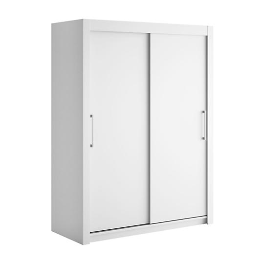 Armoire 2 portes coulissantes bois largeur 120 cm dream for Largeur porte coulissante