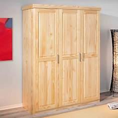 Armoire 3 portes Idaline naturel