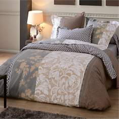 Housse de couette percale Isis TRADILING...