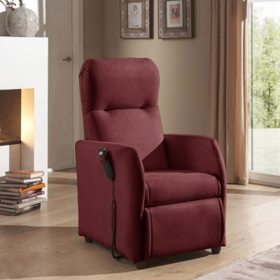 Fauteuil relax microfibre Jessy Bultex Camif