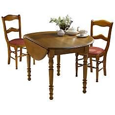 Table ronde à volets 115 Léonnie,  mer...