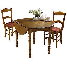 Table ronde à volets 115 Léonnie...