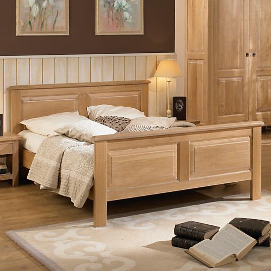lit balzac ch ne massif. Black Bedroom Furniture Sets. Home Design Ideas