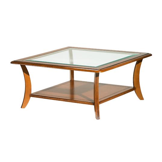 table basse carr e ma lia. Black Bedroom Furniture Sets. Home Design Ideas