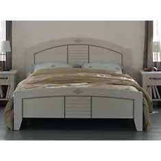 Lit Mathilda 140 x 190 cm blanchi
