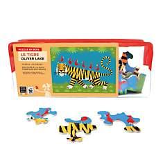 Puzzle Le Tigre, De Lake