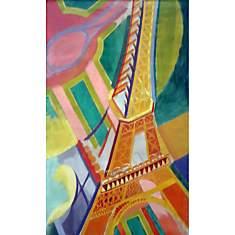 Puzzle Tour Eiffel, De Delaunay